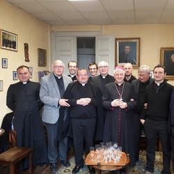 L'équipe des prêtres de la paroisse Christ Sauveur